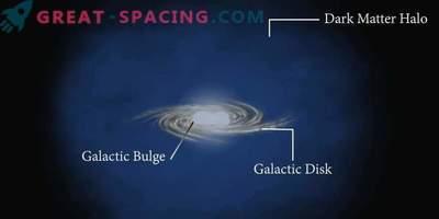 Temna snov ni vključena v emisije galaktičnih izboklin?