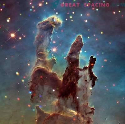 Estudo da Nebulosa da Águia e Pilares da Criação