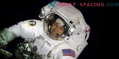 O laboratório orbital recebe os hóspedes