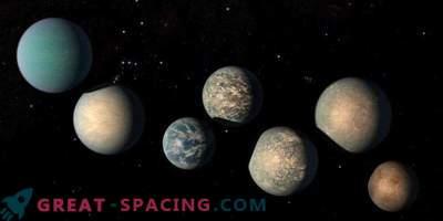 Il peut y avoir trop d'eau sur les exoplanètes TRAPPIST-1