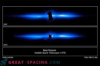 Hubble ha scoperto un esopianeta massiccio nel disco circumstellare