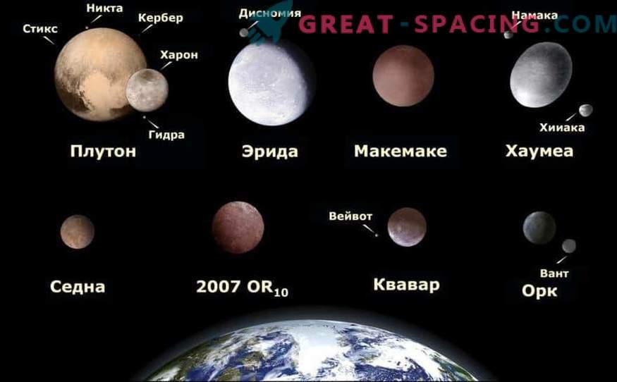 As esquisitices do planeta anão Haumea