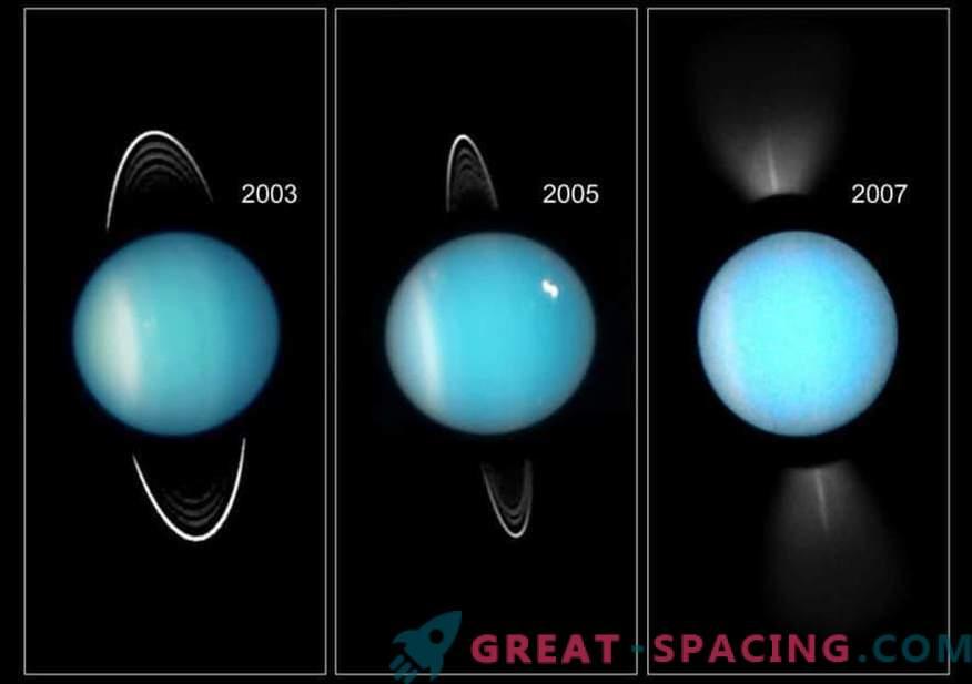Kako je Uran postal najhladnejši planet v sončnem sistemu