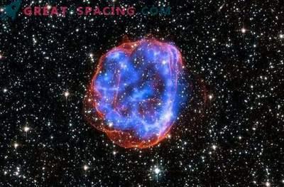 Taevane jõulupall on tegelikult supernova jäänuk