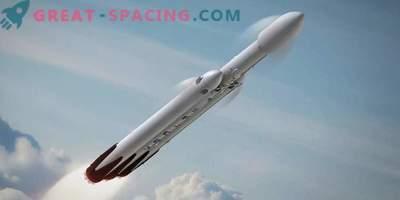 SpaceX testira novo veliko raketo