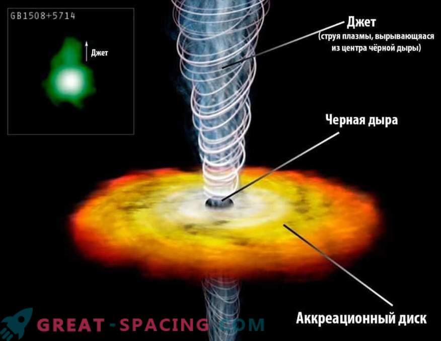 Um buraco negro supermassivo pode absorver um quasar