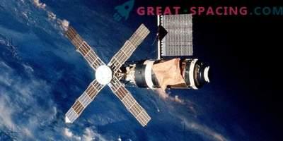 O que aconteceu com a primeira estação orbital americana Skylab