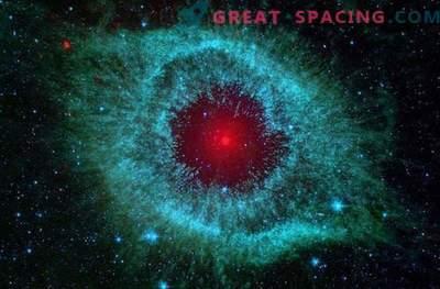 Uma seleção das fotografias mais brilhantes das nebulosas feitas pelo telescópio Spitzer