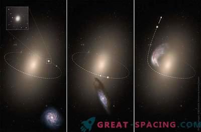 Majhne in osamljene: metanje galaksij v vesolje
