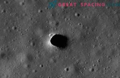 Os tubos de lava na lua podem proteger os astronautas