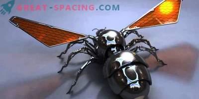 As abelhas de robôs podem enviar para Marte
