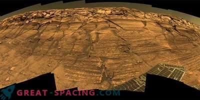 Die erstaunlichen Orte des Meridianplateaus, entdeckt vom Opportunity Rover