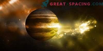 As condições de vida podem ser escondidas dentro de Júpiter