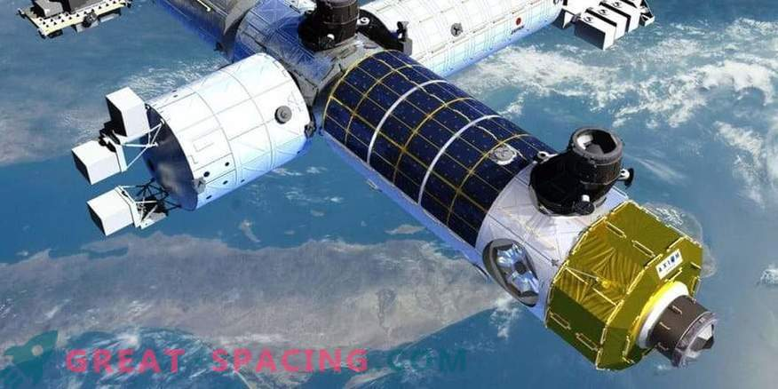 A private space station can reuse parts of the ISS.