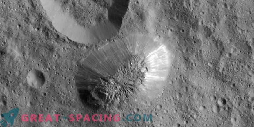 Curioso desaparecimento de vulcões de gelo em Ceres