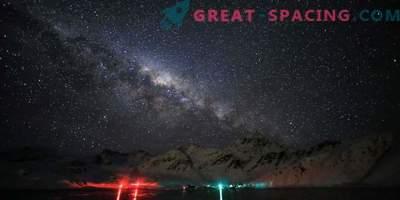 Quer desfrutar de um céu claro e estrelado. Visite a Antártica