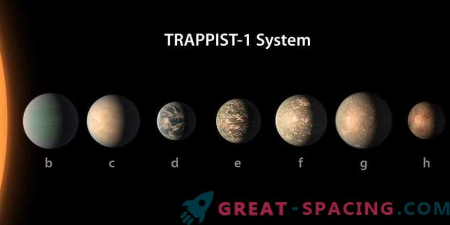Planet Stars TRAPPIST-1 can be life-friendly