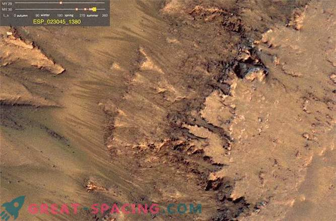When liquid water flowed on Mars