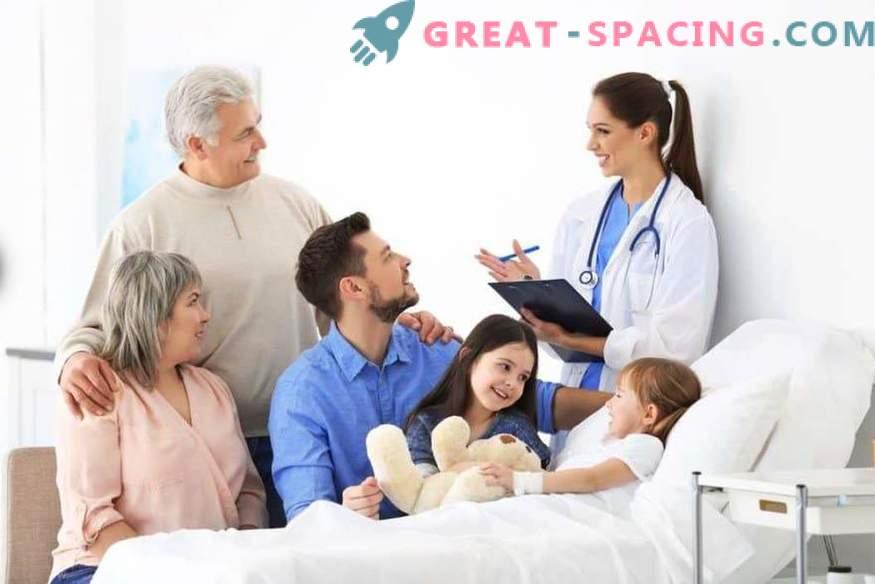 Ayuda para adultos: llame a un médico en una clínica para adultos, haga una cita con un dentista en línea