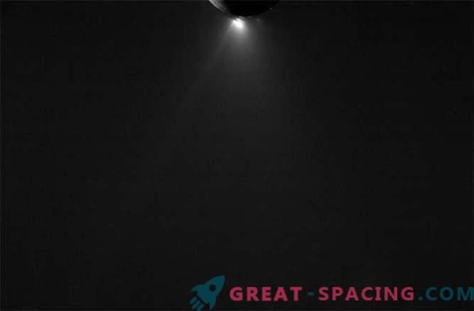 Cassini tomó las últimas fotos de Encelado
