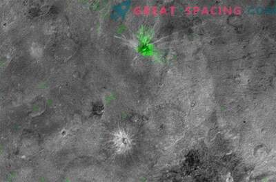 Frozen ammonia on Charon was a new discovery